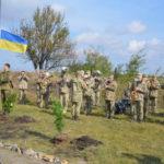 Освячення пам'ятної стели за всіма загиблими захистниками України.